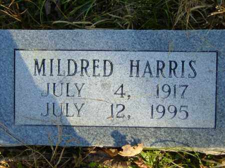 HARRIS, MILDRED - Baxter County, Arkansas | MILDRED HARRIS - Arkansas Gravestone Photos