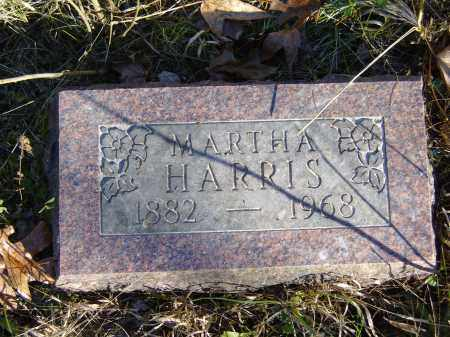 HARRIS, MARTHA - Baxter County, Arkansas | MARTHA HARRIS - Arkansas Gravestone Photos