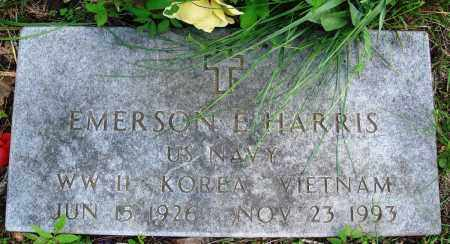 HARRIS (VETERAN 3 WARS), EMERSON E - Baxter County, Arkansas | EMERSON E HARRIS (VETERAN 3 WARS) - Arkansas Gravestone Photos