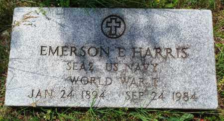 HARRIS (VETERAN WWI), EMERSON EDWARD - Baxter County, Arkansas   EMERSON EDWARD HARRIS (VETERAN WWI) - Arkansas Gravestone Photos