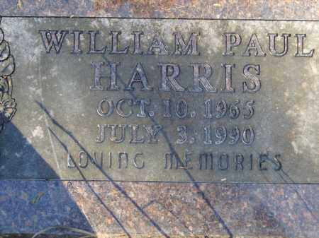 HARRIS, WILLIAM PAUL - Baxter County, Arkansas | WILLIAM PAUL HARRIS - Arkansas Gravestone Photos