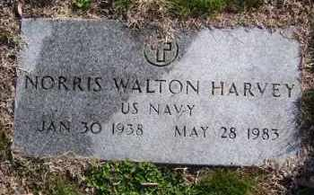 HARVEY (VETERAN KOR), NORRIS WALTON - Baxter County, Arkansas | NORRIS WALTON HARVEY (VETERAN KOR) - Arkansas Gravestone Photos