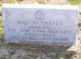 HARVEY (VETERAN WWI), MARTIN R - Baxter County, Arkansas | MARTIN R HARVEY (VETERAN WWI) - Arkansas Gravestone Photos