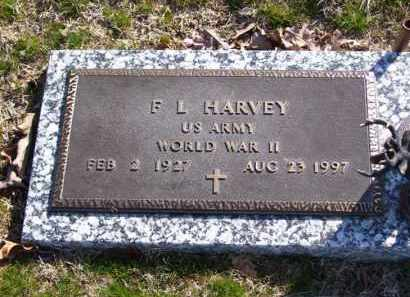 HARVEY (VETERAN WWII), F L - Baxter County, Arkansas | F L HARVEY (VETERAN WWII) - Arkansas Gravestone Photos