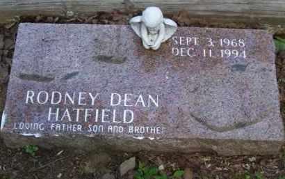 HATFIELD, RODNEY DEAN - Baxter County, Arkansas | RODNEY DEAN HATFIELD - Arkansas Gravestone Photos