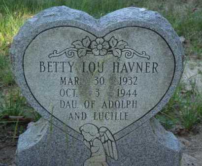 HAVNER, BETTY LOU - Baxter County, Arkansas | BETTY LOU HAVNER - Arkansas Gravestone Photos