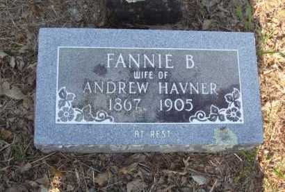 HAVNER, FANNIE BELLE - Baxter County, Arkansas | FANNIE BELLE HAVNER - Arkansas Gravestone Photos