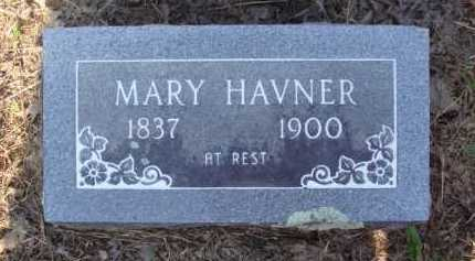HAVNER, MARY - Baxter County, Arkansas | MARY HAVNER - Arkansas Gravestone Photos