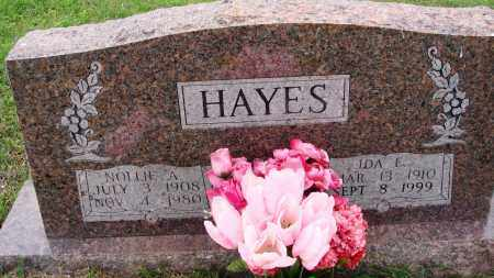 HAYES, NOLLIE A - Baxter County, Arkansas | NOLLIE A HAYES - Arkansas Gravestone Photos