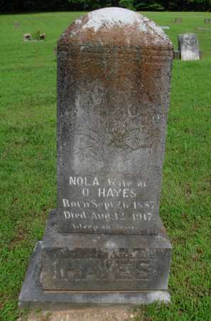 HAYES, NOLA - Baxter County, Arkansas | NOLA HAYES - Arkansas Gravestone Photos