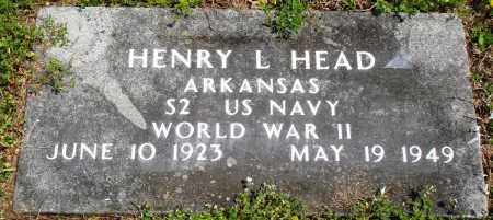 HEAD (VETERAN WWII), HENRY L - Baxter County, Arkansas | HENRY L HEAD (VETERAN WWII) - Arkansas Gravestone Photos