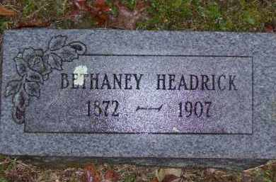 SINOR HEADRICK, BETHANEY - Baxter County, Arkansas | BETHANEY SINOR HEADRICK - Arkansas Gravestone Photos