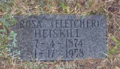 FLETCHER HEISKILL, ROSA ANN - Baxter County, Arkansas | ROSA ANN FLETCHER HEISKILL - Arkansas Gravestone Photos