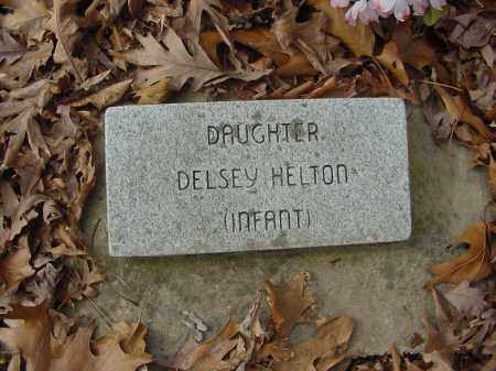 HELTON, DELSEY - Baxter County, Arkansas | DELSEY HELTON - Arkansas Gravestone Photos