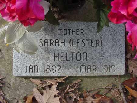 HELTON, SARAH - Baxter County, Arkansas | SARAH HELTON - Arkansas Gravestone Photos