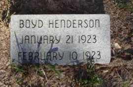 HENDERSON, BOYD - Baxter County, Arkansas | BOYD HENDERSON - Arkansas Gravestone Photos