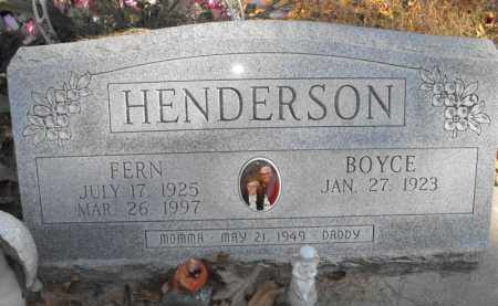 HENDERSON, FERN - Baxter County, Arkansas | FERN HENDERSON - Arkansas Gravestone Photos
