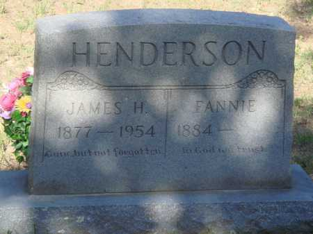 HENDERSON, JAMES H. - Baxter County, Arkansas | JAMES H. HENDERSON - Arkansas Gravestone Photos