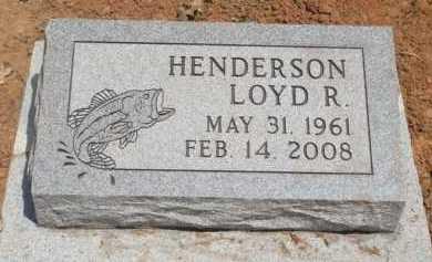 HENDERSON (VETERAN), LOYD R. - Baxter County, Arkansas | LOYD R. HENDERSON (VETERAN) - Arkansas Gravestone Photos
