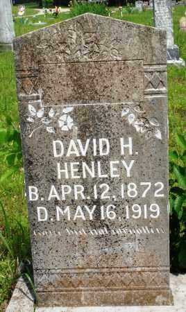 HENLEY, DAVID H - Baxter County, Arkansas | DAVID H HENLEY - Arkansas Gravestone Photos