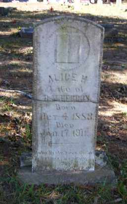 HERRON, ALICE H. - Baxter County, Arkansas | ALICE H. HERRON - Arkansas Gravestone Photos