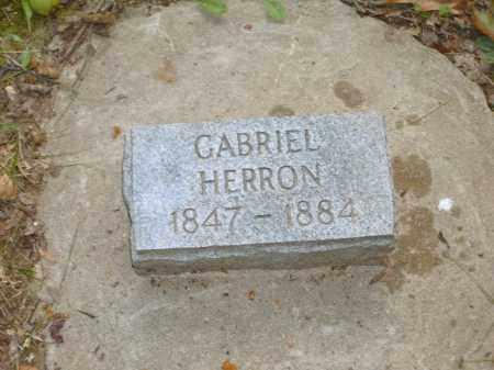 HERRON, GABRIEL - Baxter County, Arkansas | GABRIEL HERRON - Arkansas Gravestone Photos