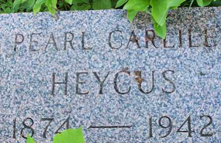HEYCUS, PEARL - Baxter County, Arkansas | PEARL HEYCUS - Arkansas Gravestone Photos