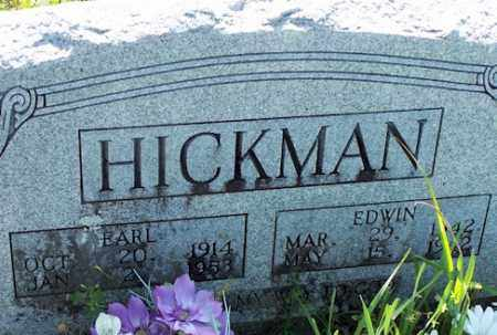 HICKMAN, EDWIN - Baxter County, Arkansas | EDWIN HICKMAN - Arkansas Gravestone Photos
