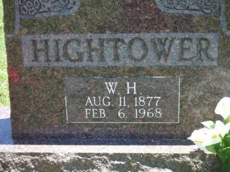 HIGHTOWER, W. H. - Baxter County, Arkansas | W. H. HIGHTOWER - Arkansas Gravestone Photos