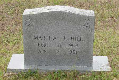 HILL, MARTHA B - Baxter County, Arkansas | MARTHA B HILL - Arkansas Gravestone Photos