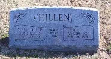 HILLEN, EARL J. - Baxter County, Arkansas | EARL J. HILLEN - Arkansas Gravestone Photos