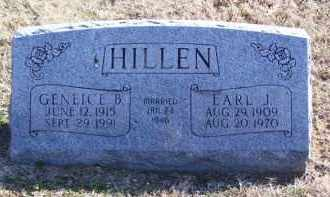 BARTON HILLEN, GENEICE B. - Baxter County, Arkansas | GENEICE B. BARTON HILLEN - Arkansas Gravestone Photos