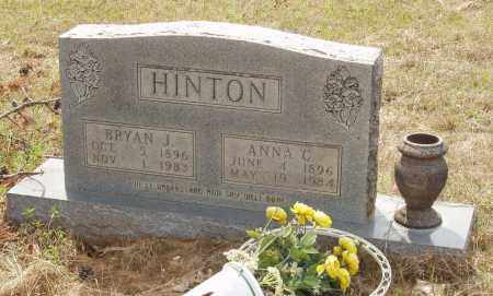 HINTON, ANNA C - Baxter County, Arkansas | ANNA C HINTON - Arkansas Gravestone Photos