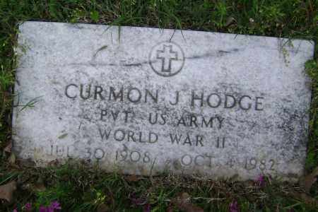 HODGE (VETERAN WWII), CURMON J. - Baxter County, Arkansas | CURMON J. HODGE (VETERAN WWII) - Arkansas Gravestone Photos