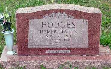 HODGES, HOMER FESTUS - Baxter County, Arkansas | HOMER FESTUS HODGES - Arkansas Gravestone Photos