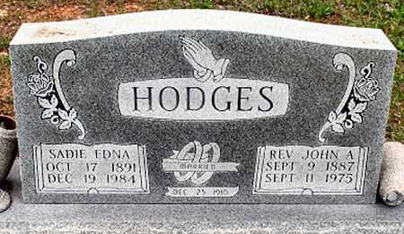 HODGES, SADIE EDNA - Baxter County, Arkansas | SADIE EDNA HODGES - Arkansas Gravestone Photos