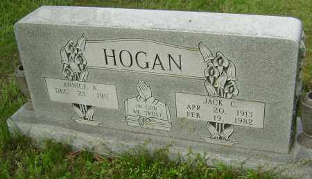HOGAN, JACK C. - Baxter County, Arkansas | JACK C. HOGAN - Arkansas Gravestone Photos