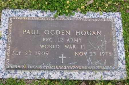 HOGAN (VETERAN WWI), PAUL OGDEN - Baxter County, Arkansas | PAUL OGDEN HOGAN (VETERAN WWI) - Arkansas Gravestone Photos
