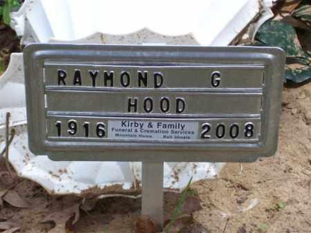 HOOD (VETERAN WWII), RAYMOND G - Baxter County, Arkansas | RAYMOND G HOOD (VETERAN WWII) - Arkansas Gravestone Photos