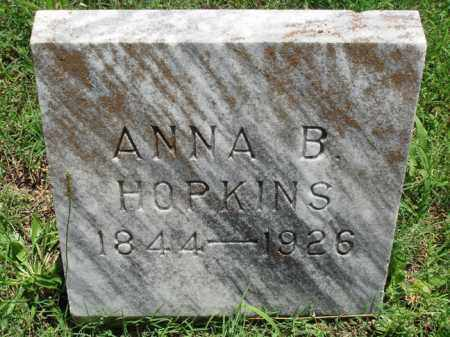 HOPKINS, ANNA B. - Baxter County, Arkansas | ANNA B. HOPKINS - Arkansas Gravestone Photos