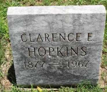HOPKINS, CLARENCE E. - Baxter County, Arkansas | CLARENCE E. HOPKINS - Arkansas Gravestone Photos