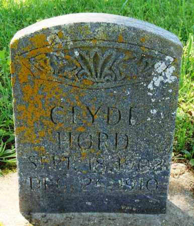 HORD, CLYDE - Baxter County, Arkansas | CLYDE HORD - Arkansas Gravestone Photos