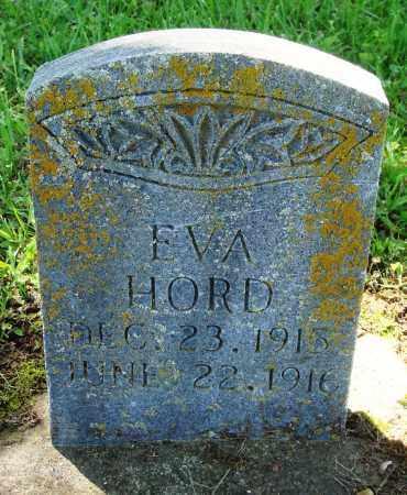 HORD, EVA - Baxter County, Arkansas | EVA HORD - Arkansas Gravestone Photos