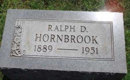 HORNBROOK, RALPH D. - Baxter County, Arkansas | RALPH D. HORNBROOK - Arkansas Gravestone Photos
