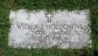 HOUTCHENS  (VETERAN WWII), WILBER F. - Baxter County, Arkansas | WILBER F. HOUTCHENS  (VETERAN WWII) - Arkansas Gravestone Photos