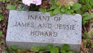 HOWARD, INFANT - Baxter County, Arkansas | INFANT HOWARD - Arkansas Gravestone Photos