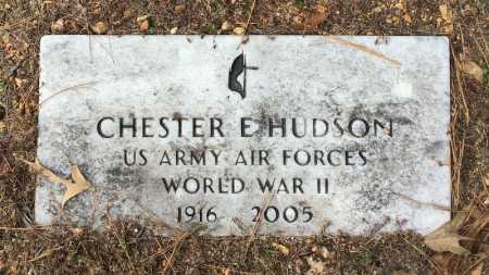 HUDSON  (VETERAN WWII), CHESTER EUGENE - Baxter County, Arkansas | CHESTER EUGENE HUDSON  (VETERAN WWII) - Arkansas Gravestone Photos