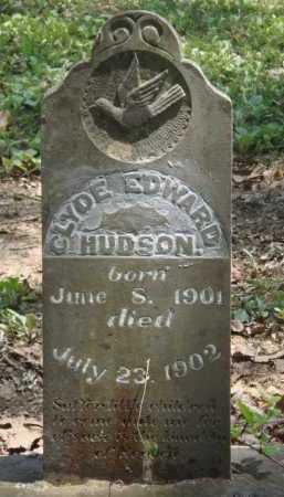 HUDSON, CLYDE EDWARD - Baxter County, Arkansas | CLYDE EDWARD HUDSON - Arkansas Gravestone Photos