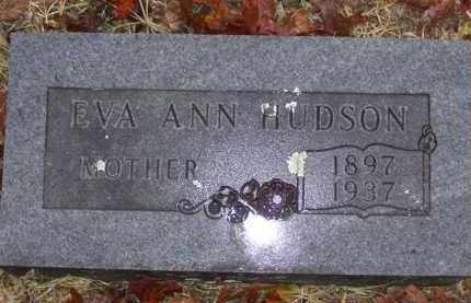 BEAVERS HUDSON, EVA ANN - Baxter County, Arkansas | EVA ANN BEAVERS HUDSON - Arkansas Gravestone Photos