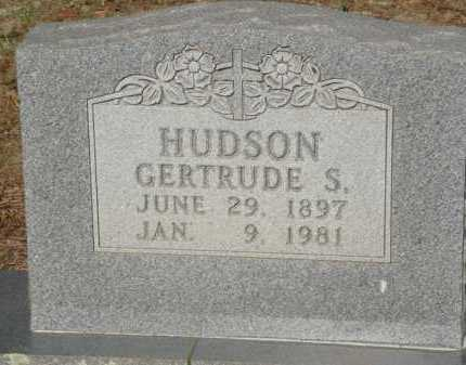 HUDSON, GERTRUDE S. - Baxter County, Arkansas | GERTRUDE S. HUDSON - Arkansas Gravestone Photos